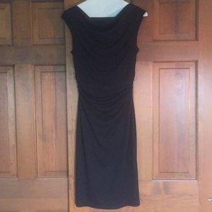 Black David Meister Cocktail Dress